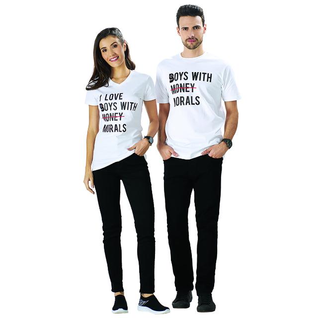 Kaos T-Shirt Pria Casual Lengan Pendek Eksklusif Boy William | BOY WILLIAM