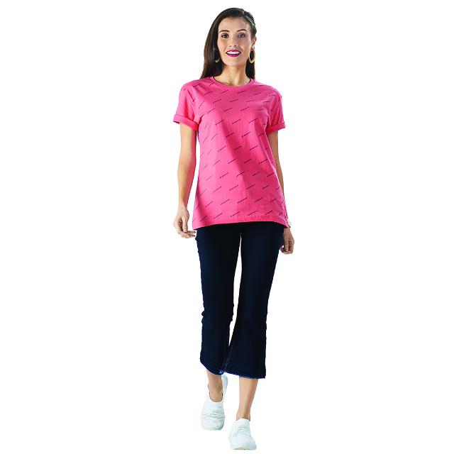 Kaos Hitam Motif Print / T-shirt | PUT IN ONE