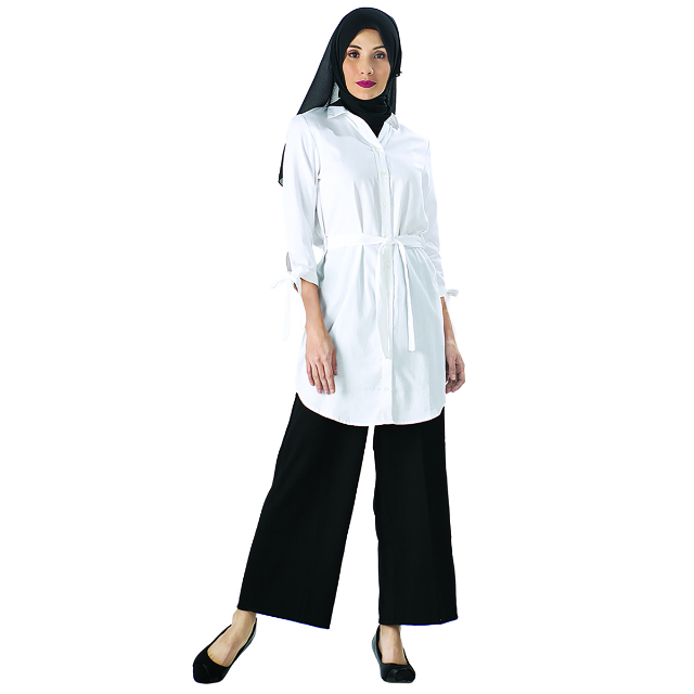 Shirt Dress Putih | CARMEL