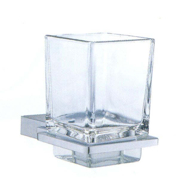 Diamond Tumbler Holder With Glass / Tempat Sikat Gigi | TREND