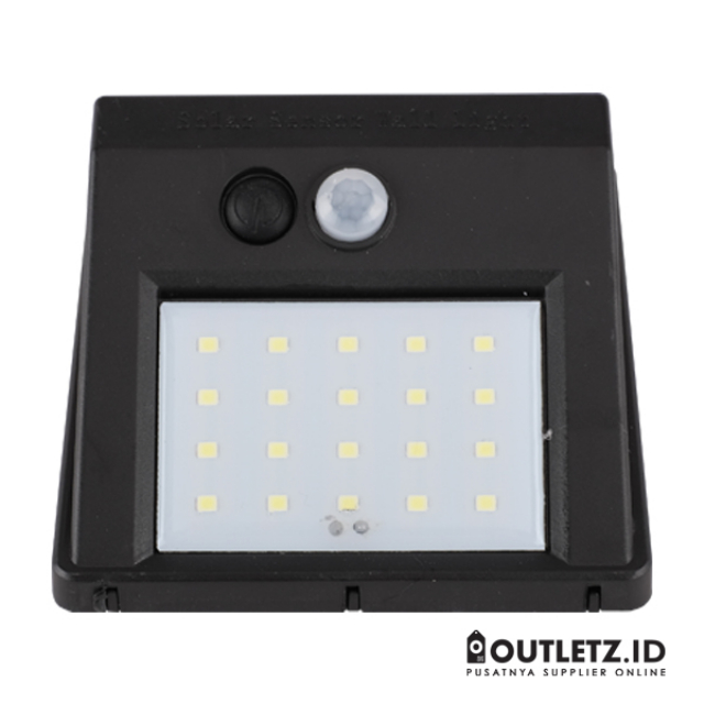 Solar Powered Led Wall Light Sensor + CDS Night Sensor / Lampu Taman | MONSTA LED