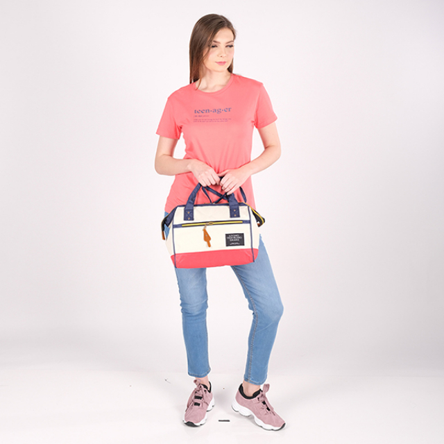 Tas Tangan / Hand Bag / Travel Bag Color Block | G-POP