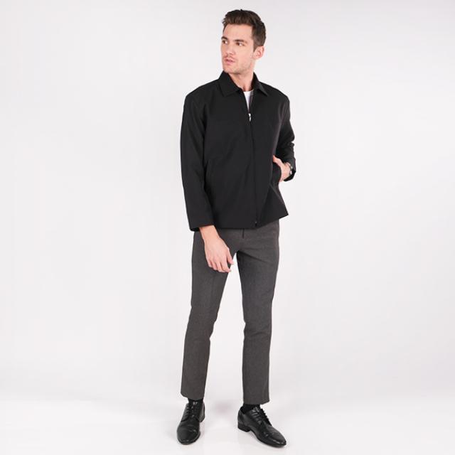 Jaket Basic Formal Pria Hitam | GERRALD & RYAN