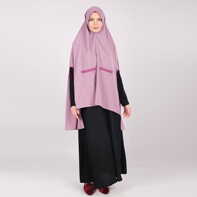 Hijab Instan Khimar Model Bolong Tangan | BUNDARIRIEN