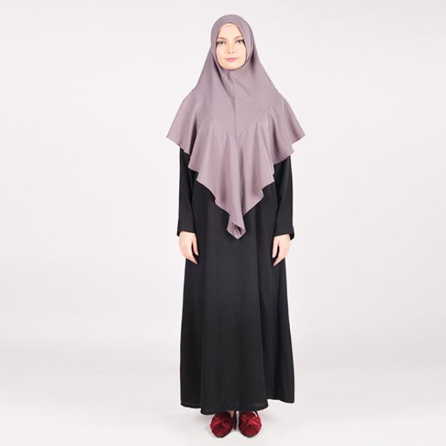 Hijab Instan Syar'i Khimar Mosscrepe | BUNDARIRIEN