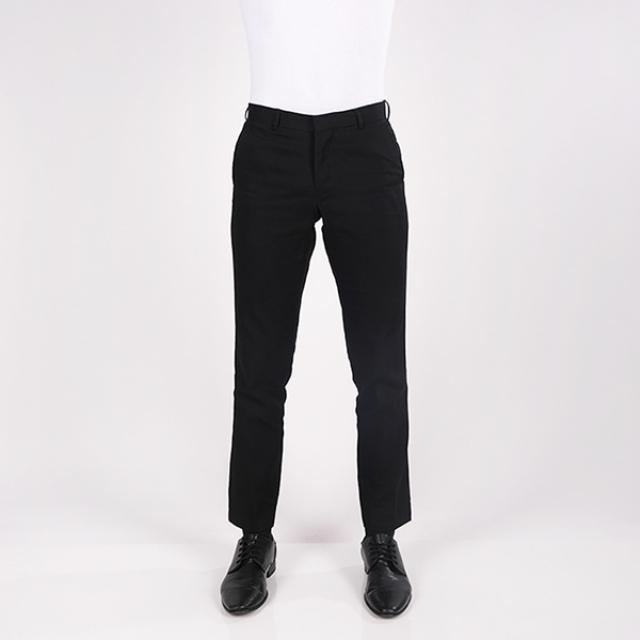 Celana Chinos Slim Fit Pria Hitam | GERRALD & RYAN