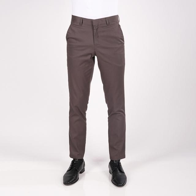 Celana Chinos Slim Fit Pria Abu-Abu | GERRALD & RYAN