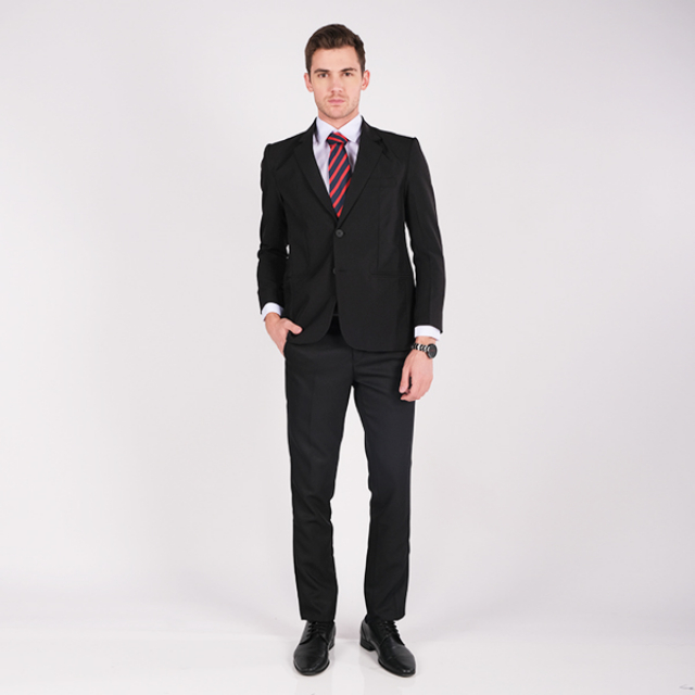Jas Formal Pria / Jas Hitam / Black Suit | GERRALD & RYAN