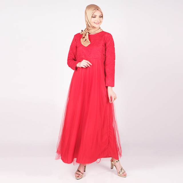Maxi Dress Nisa Luxury   MISS U MINORU