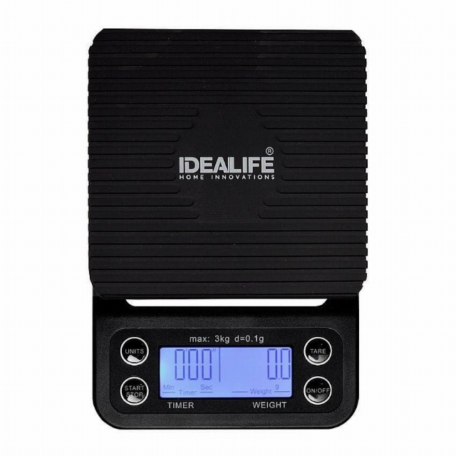 Digital Coffee Scale (IL-500CS) / Timbangan Kopi Digital | IDEALIFE