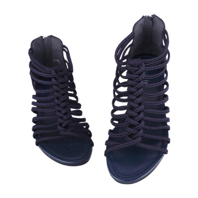 Sandal Wanita Gladiator Navy | LAVIOLA
