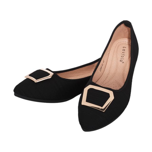 Sepatu Flat - Black / Flat Shoes | LAVIOLA