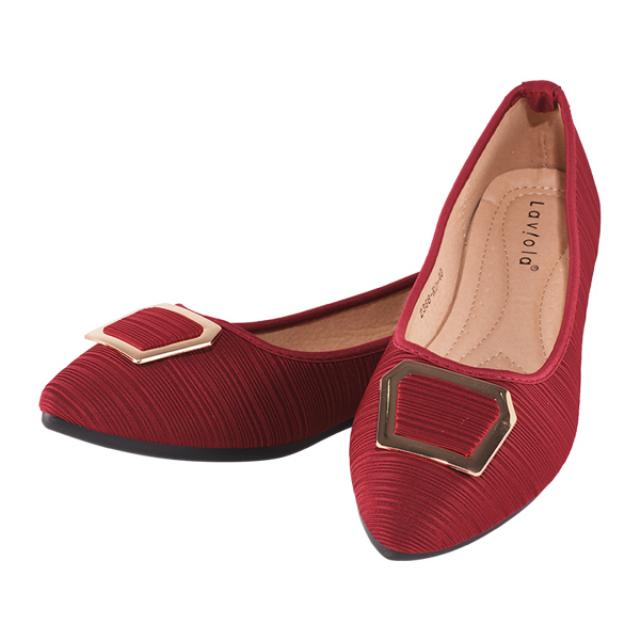 Sepatu Flat - Red / Flat Shoes | LAVIOLA
