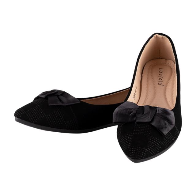 Sepatu Flat - Hitam / Flat Shoes | LAVIOLA