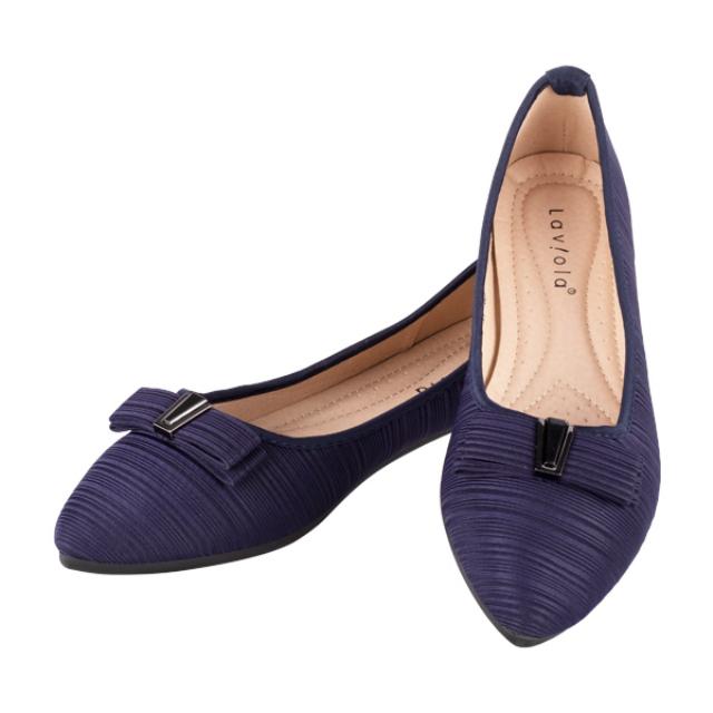 Sepatu Flat - Navy / Flat Shoes | LAVIOLA