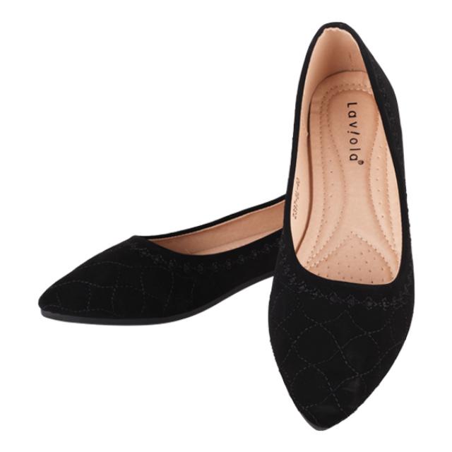Sepatu Flat / Flat Shoes Black 2397 | LAVIOLA