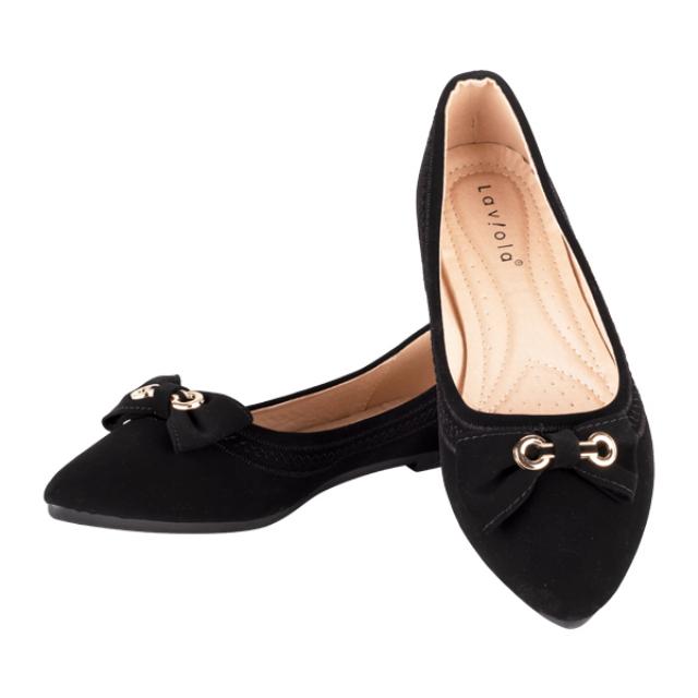 Sepatu Flat - Black 2391 / Flat Shoes | LAVIOLA
