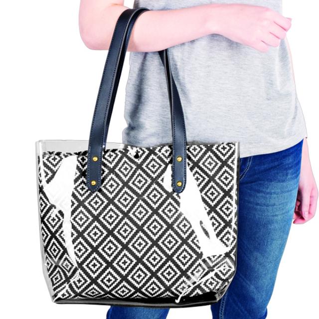 Tas Tangan Transparan / Handbag Transparant / Tas K-Pop | CKKI