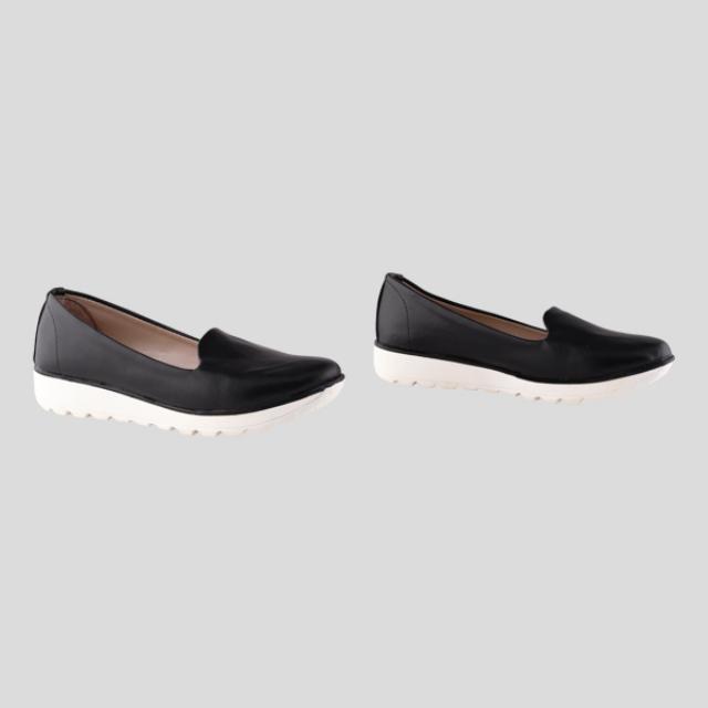 Sepatu Wedges / Wedges Fiery Black | BUNNY FEET