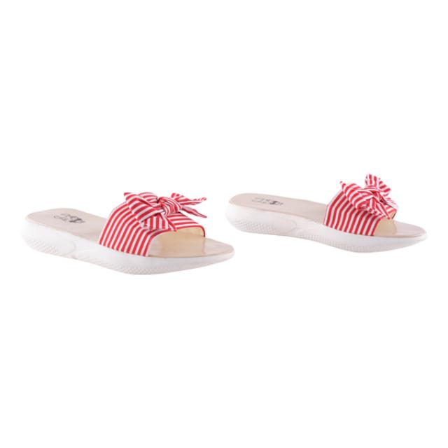 Sandal Wedges Kimi Red | BUNNY FEET