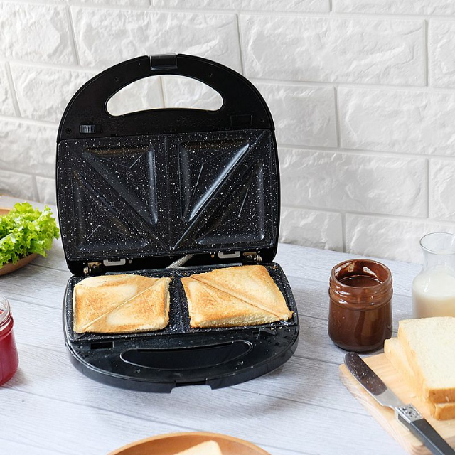 3in1 Sandwich Maker  (IL-202) / Toaster / Pemanggang Roti | IDEALIFE