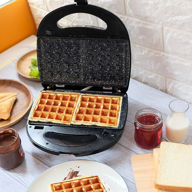 3in1 Sandwich Maker  (IL-202) / Toaster / Pemanggang Roti | IDEALIFE4