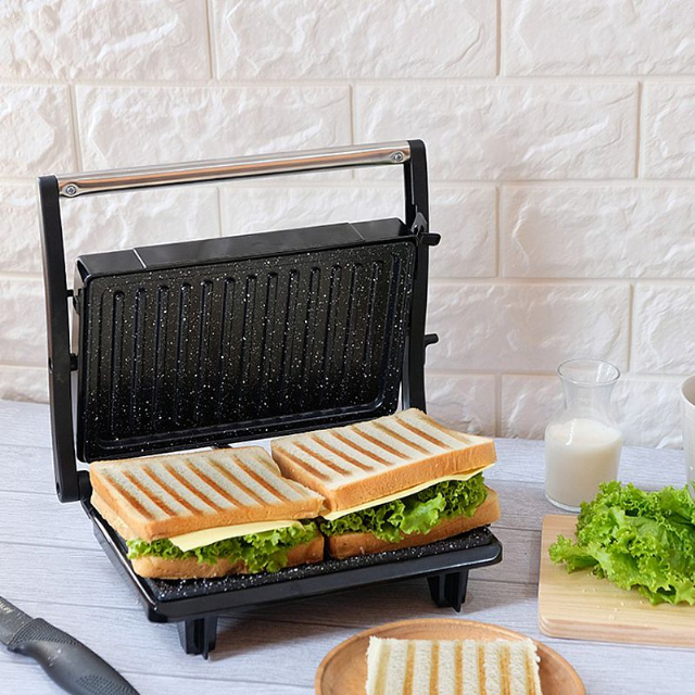 Panini Press (IL-203) / Toaster Pemanggang Roti / Daging | IDEALIFE1