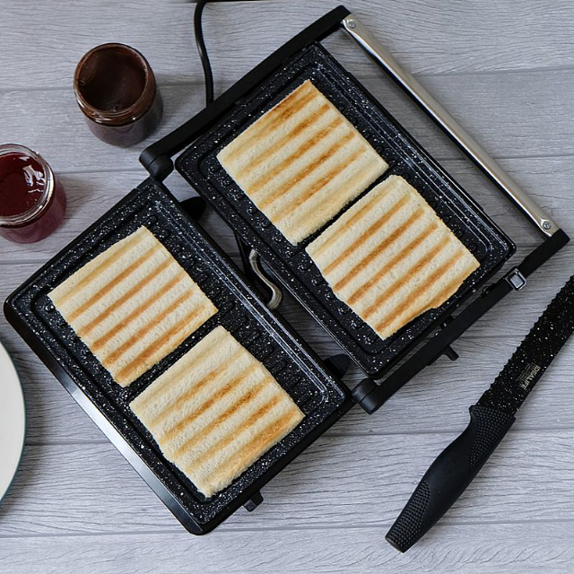 Panini Press (IL-203) / Toaster Pemanggang Roti / Daging | IDEALIFE2