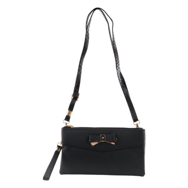 Dompet Kulit Hitam / Sling Bag / Tas Selempang | IEKE