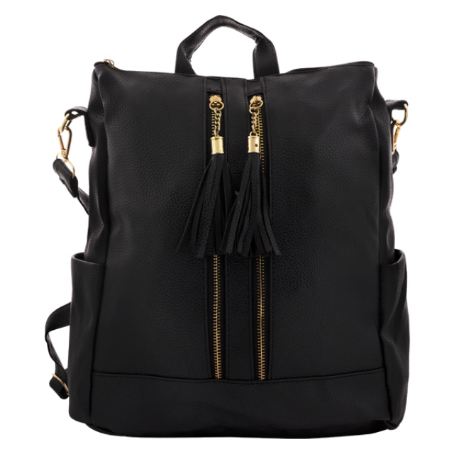 Tas Casual Wanita Backpack Black | IEKE