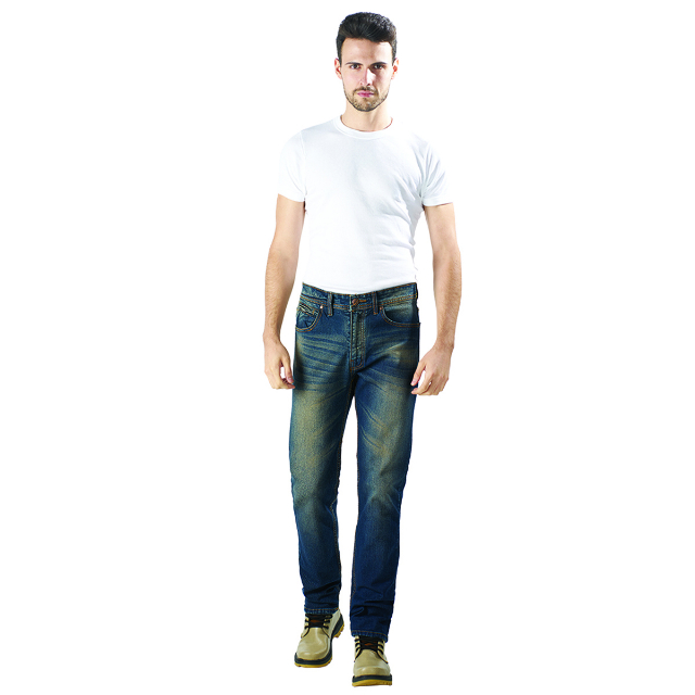 Celana Jeans Pria Biru / Blue Jeans  | LUCI BELLO