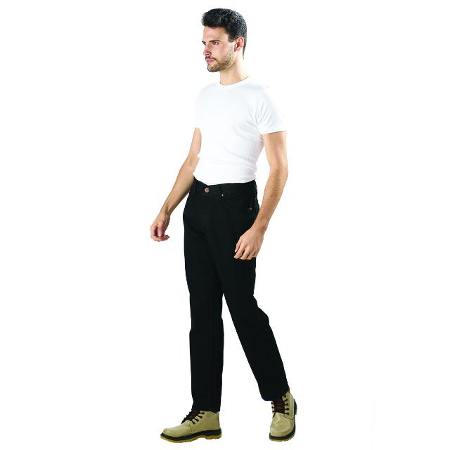 Celana Jeans Pria - Hitam | LUCI BELLO