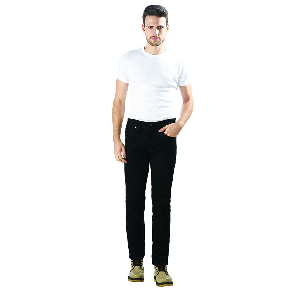 Celana Jeans Pria Hitam | LUCI BELLO