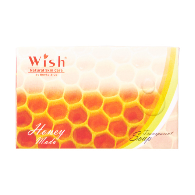 Transparent Soap Honey / Sabun Madu | WISH