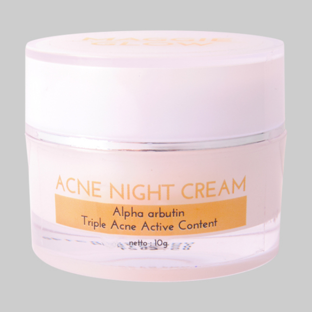 Maggie Glow Acne Night Cream | MAGGIE GLOW