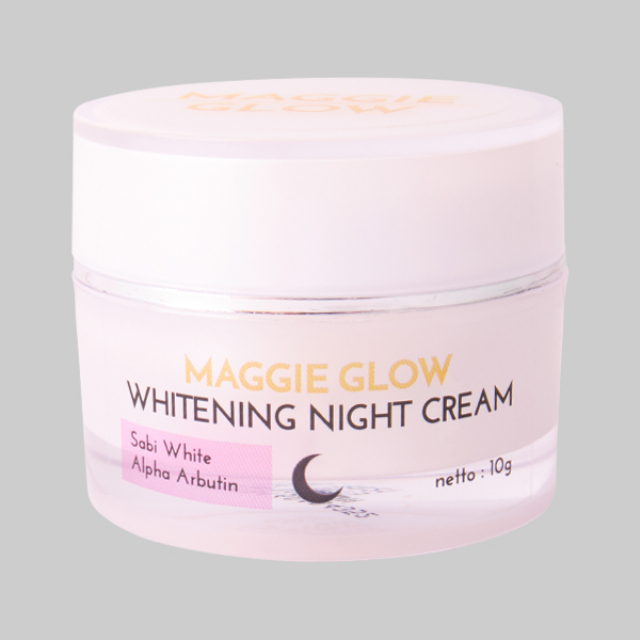 Maggie Glow Whitening Night Cream | MAGGIE GLOW