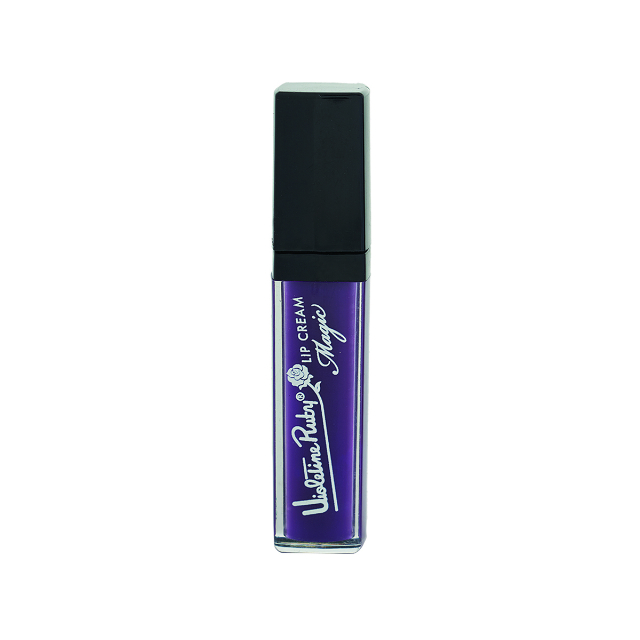 Lipstik Lip Cream Magic 13 Purple/Ungu | VIOLETINE RUTY
