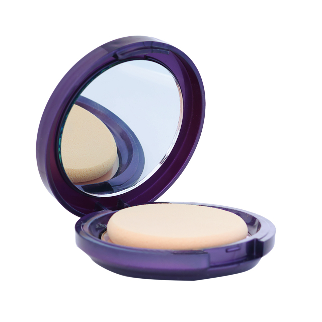 Bedak Two Way Cake (UV Filter) - Ivory | VIOLETINE RUTY