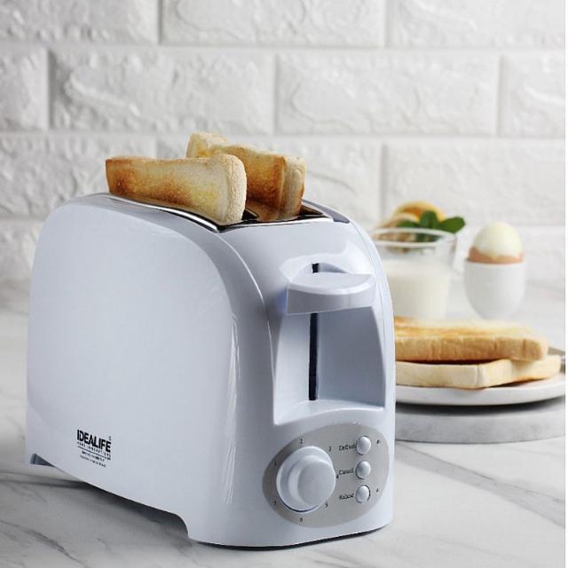 Toaster 2 Slices (IL-204) / Pemanggang / Panggangan Roti | IDEALIFE2