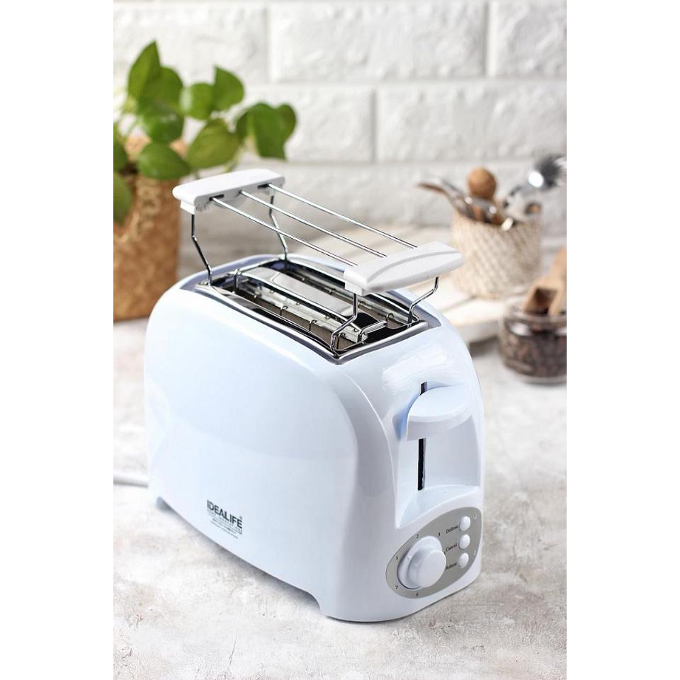 Toaster 2 Slices (IL-204) / Pemanggang / Panggangan Roti | IDEALIFE3
