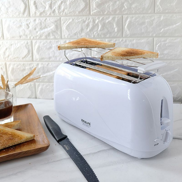 Toaster 4 Slices (IL-204S) / Pemanggang / Panggangan Roti | IDEALIFE4