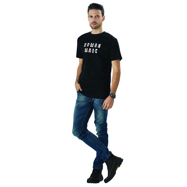 Kaos Lengan Pendek Motif Print SKY Katun | SKY