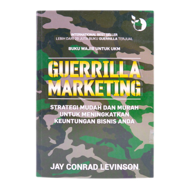 Buku Pemasaran / Guerrilla Marketing | PLP BOOK