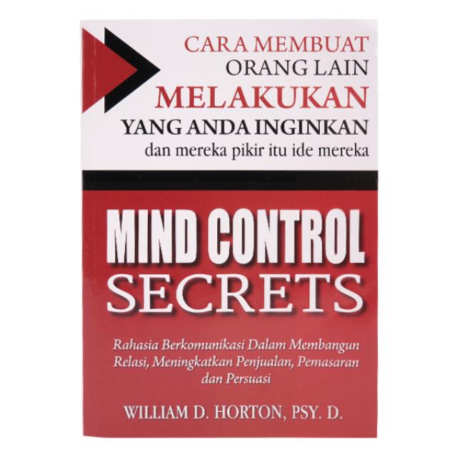 Buku Motivasi / Mind Control Secrets | PLP BOOK