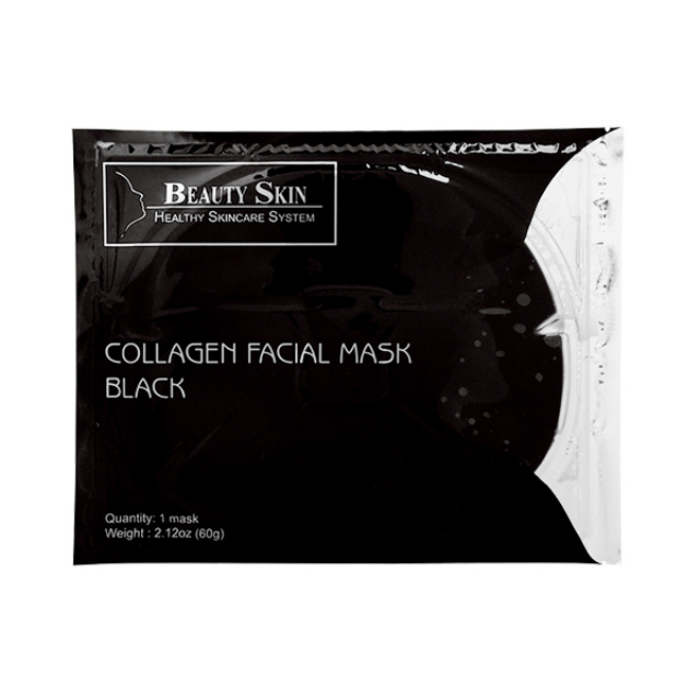 Beauty Skin Collagen Facial Black Sheet Mask | BEAUTY SKIN
