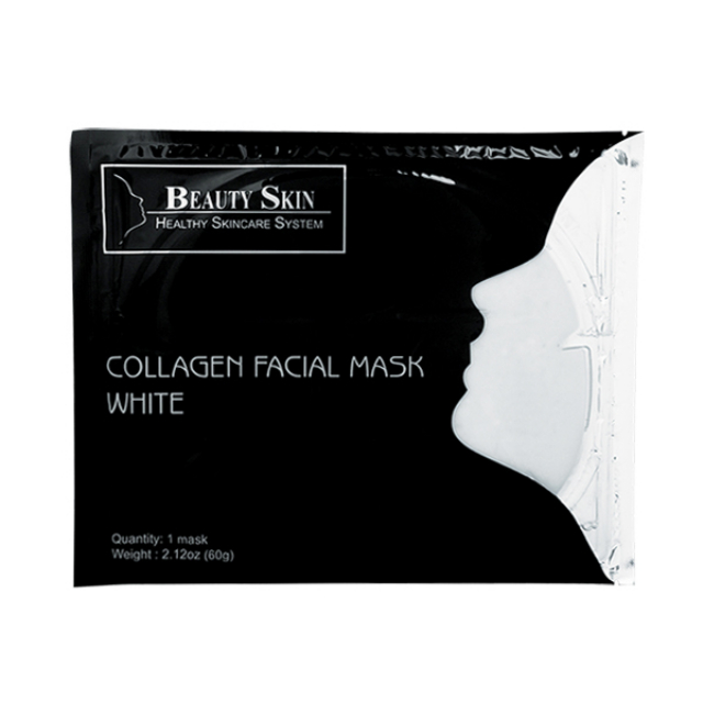 Beauty Skin Collagen Facial White Sheet Mask | BEAUTY SKIN