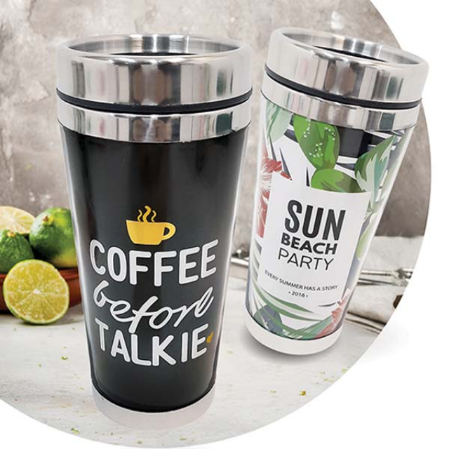 Tumblr Cup Coffee / Tempat Air Minum | RAINBOW