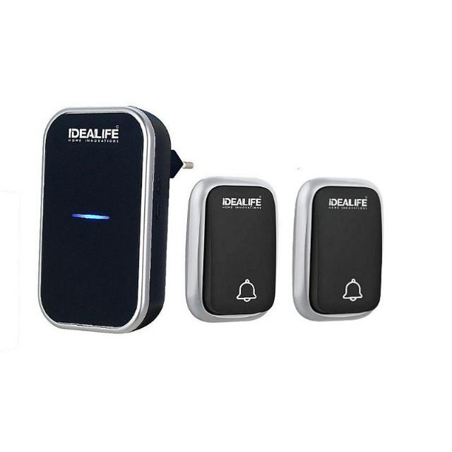 AC Wireless Doorbell 2 Remote (IL-295S) / Bel Pintu Listrik 2 Remote *tanpa baterai | IDEALIFE