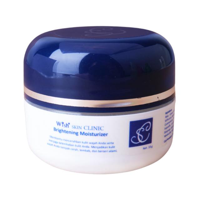 Brightening Moisturizer Cream / Cream Pemutih Kulit | WISH