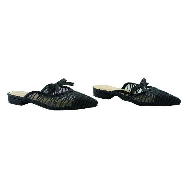 Sepatu Sandal Wanita Hitam   CASTON